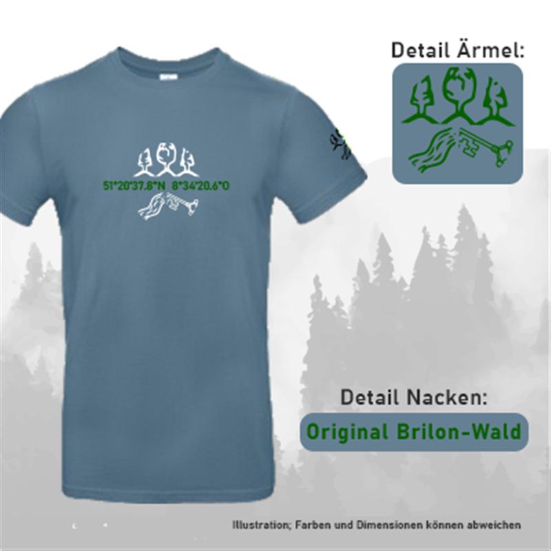 T-Shirt KOORDINATEN - Herren