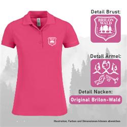 Poloshirt HSV - Damen
