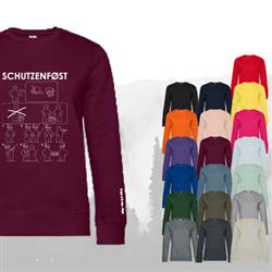 Sweatshirt SCHUTZENFØST - Damen