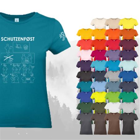 T-Shirt SCHUTZENFØST - Damen