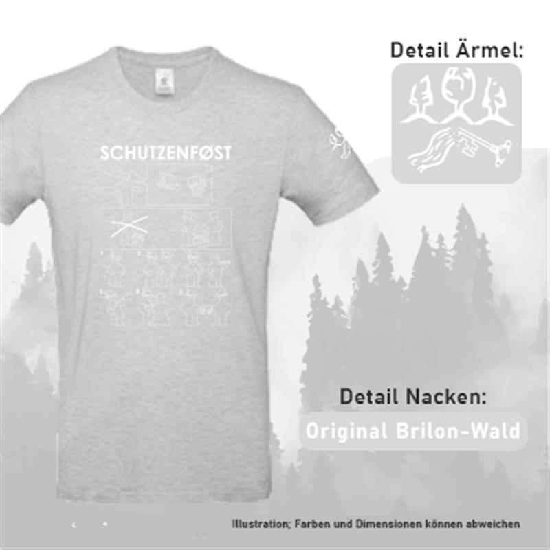 T-Shirt SCHUTZENFØST - Herren